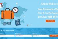 Jasa pembuatan website tour travel