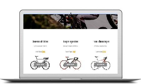 toko online landing page