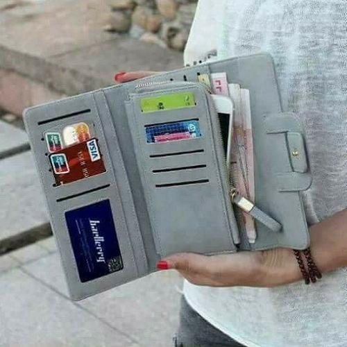 Dompet Wanita Uang Kartu dan Hp