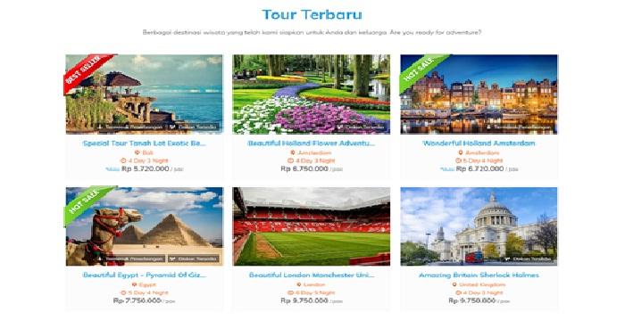 Jasa pembuatan web tour