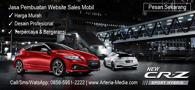 Jasa pembuatan website sales mobil murah