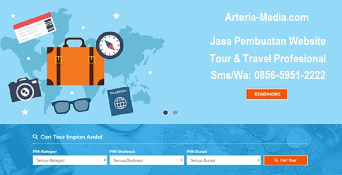 Jasa Pembuatan Website Tour Travel Murah