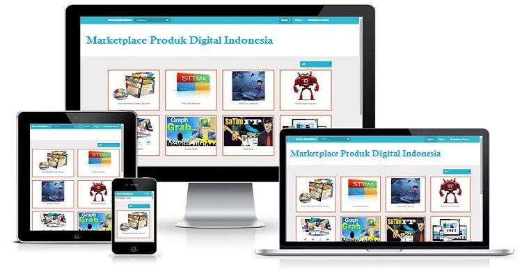 Jasa pembuatan website affiliasi produk digital