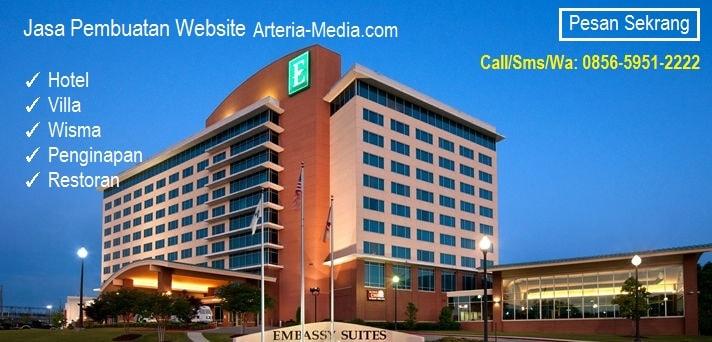 Jasa Pembuatan Website Hotel, Villa, Wisma, Penginapan dan Resto
