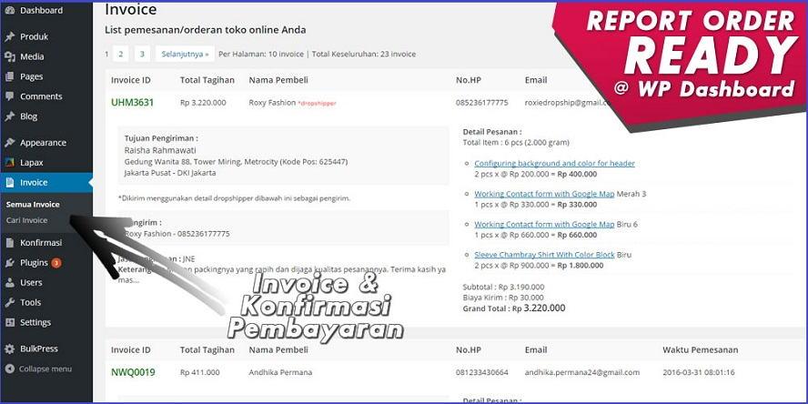 Ada report order