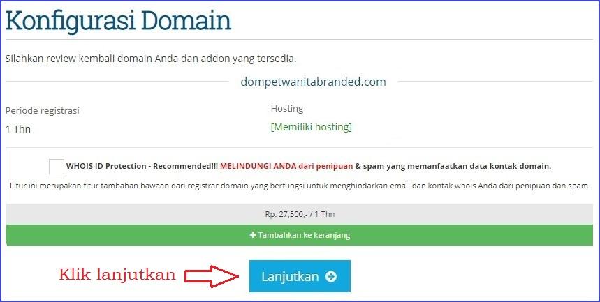Periksa domain