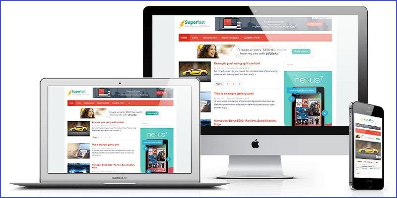 Demo website Google adsense