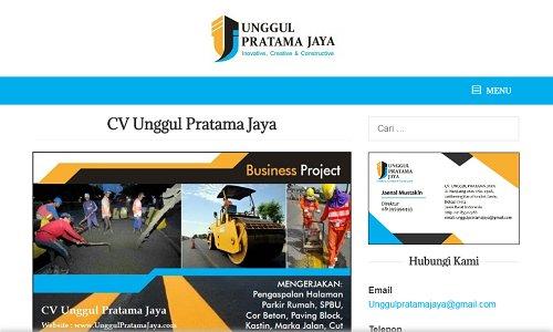 Jasa pembuat web company profile